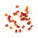Gemstone Flat Back Buff Top Straight Side Stone - Cushion 03x2MM CORNELIAN