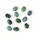 Gemstone Cabochon - Oval 08x6MM AFRICAN TURQUOISE