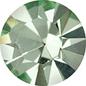 Preciosa Crystal Point Back OPTIMA Foiled Chaton - PP02 CHRYSOLITE