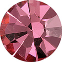 Preciosa Crystal Point Back OPTIMA Foiled Chaton - PP01 ROSE