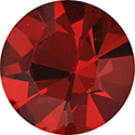 Preciosa Crystal Point Back OPTIMA Foiled Chaton - PP02 SIAM RUBY