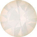 Preciosa Crystal Point Back OPTIMA Foiled Chaton - PP02 WHITE OPAL
