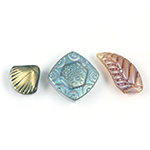 Engraved Design Beads