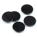 Gemstone Flat Back Flat Top Straight Side 1.5mm Thick Stone - Round 13MM BLACK ONYX
