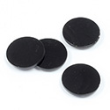 Gemstone Flat Back Flat Top Straight Side 1.5mm Thick Stone - Round 14.1MM BLACK ONYX