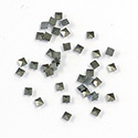 Genuine Marcasite Flat Back Stone - Square 02x2MM