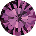 Preciosa Crystal Point Back MAXIMA Foiled Chaton - PP06 AMETHYST
