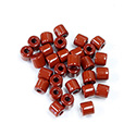 Preciosa Rola Beads - 05MM with a 1.6MM Hole MAROON 13600