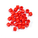 Preciosa Rola Beads - 05MM with a 1.6MM Hole RED 93170
