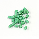 Preciosa Rola Beads - 03.5x5MM with a 1.0MM Hole GREEN 53210