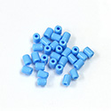 Preciosa Rola Beads - 03.5x5MM with a 1.0MM Hole LT BLUE TURQUOISE 63020