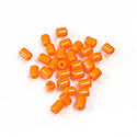 Preciosa Rola Beads - 03.5x5MM with a 1.0MM Hole ORANGE 93140