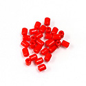 Preciosa Rola Beads - 03.5x5MM with a 1.0MM Hole RED 93170