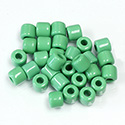 Preciosa Rola Beads - 06.2MM with a 2.2MM Hole GREEN 53230