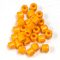 Preciosa Rola Beads - 06.2MM with a 2.2MM Hole TANGERINE 93110