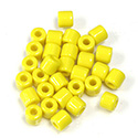 Preciosa Rola Beads - 06.2MM with a 2.2MM Hole YELLOW 83110