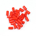 Preciosa Rola Beads - 03.5x7MM with a 1.0MM Hole RED 93170