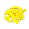 Preciosa Rola Beads - 03.5x7MM with a 1.0MM Hole YELLOW 83110