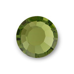 Asfour Crystal Flat Back Chaton Rose - 10SS OLIVINE