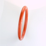 Acrylic Bangle - Round Domed 9MM RUST