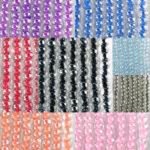 Transparent Color Line Seed Beads