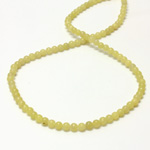 Gemstone Bead - Smooth Round 04MM JADE OLIVE