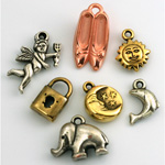 Metalized Charms