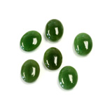 Gemstone Cabochon - Oval 10x8MM TAIWAN JADE