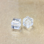 Preciosa Crystal Bead - Square 04MM CRYSTAL
