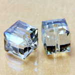 Preciosa Crystal Bead - Square 08MM LAGOON