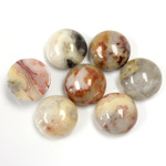 Gemstone Cabochon - Round 11MM MEXICAN CRAZY LACE
