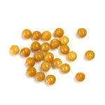 Gemstone Cabochon - Round 04MM YELLOW JASPER
