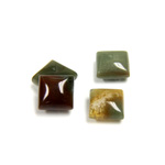 Gemstone Cabochon - Square 08x8MM FANCY JASPER